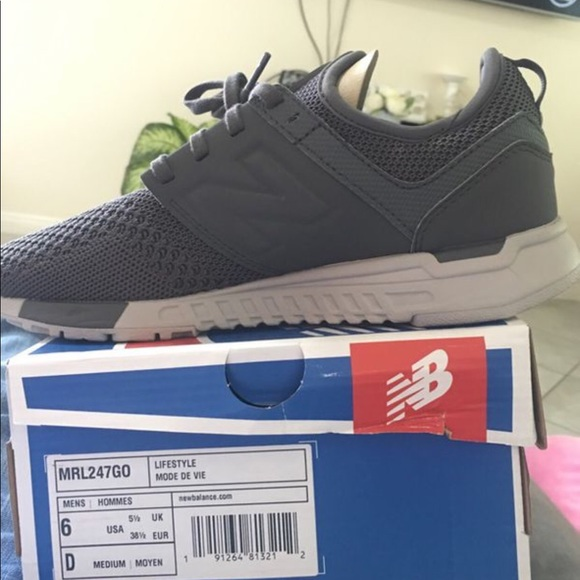 New balance size 6 in men shoes